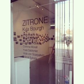 Kyla Bourgh: Zitrone Live StreamEvent