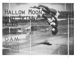 Hallow Moon + Skinny Kids at theGam